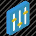 parameters, preference, sound adjustment, volume adjustment, volume control, volume equalizer icon