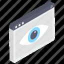cyber eye, web, web monitoring, web observation, web search, web view