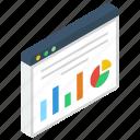 business website, data analytics, graphical website, online graph, statistics