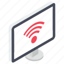 computer wifi, internet connectivity, internet sign, internet signals, wifi signals, wireless internet icon