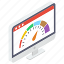 speed test, web dashboard, web performance, web speed, website maintenance icon