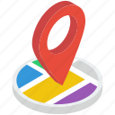location, location marker, location pointer, map locator, map navigation, map pin icon