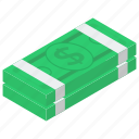banknote, currency, dollar, finance, paper money