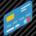 atm card, bank card, cash card, credit card, debit card icon