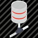data center, data storage, shared database, sql, storage backup, storage device icon