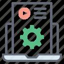 content configuration, content development, content management, content setting, web content icon