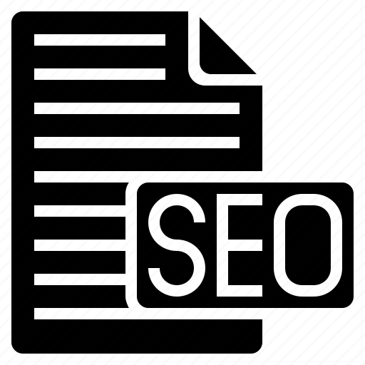 report, seo, seo article, seo guide, seo information, seo report, web icon