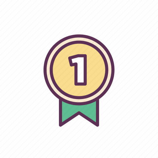 achievement, goals, medal, rank, results icon