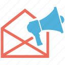 mail, marketing, seo services, social media, web designer icon