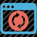 marketing, referal, seo services, social media, web designer icon