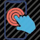 app, seo services, social media, touchscreen, web designer icon