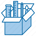 box, creative, package, seo, tools icon