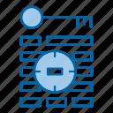 goal, keyword, tag, targeting, traget icon