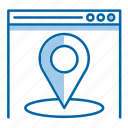 local, location, pin, seo, website icon