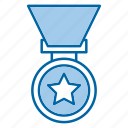 medal, prize, reward, winner icon