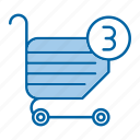 cart, online, order, shopping icon