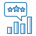 chat, management, report, reputation icon
