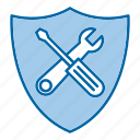 protection, repair, security, tools icon