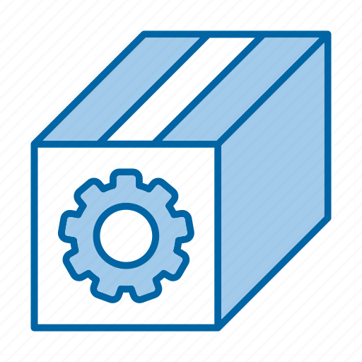 box, online, package, seo, tools icon
