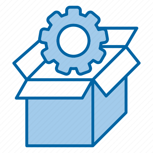 box, package, seo, tools icon