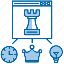 idea, planning, seo, strategy icon