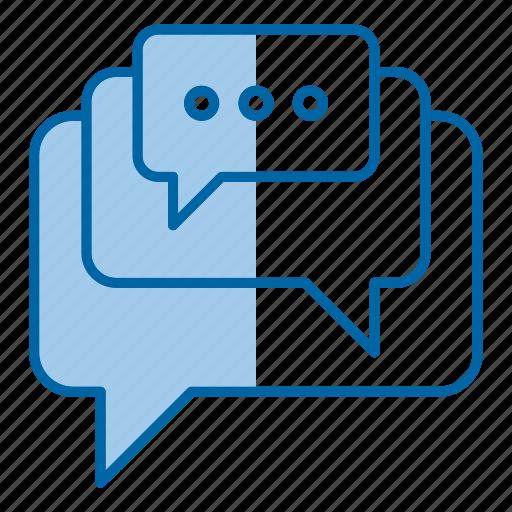 bubble, chat, engagement, social icon