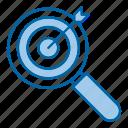 focus, goal, keyword, target