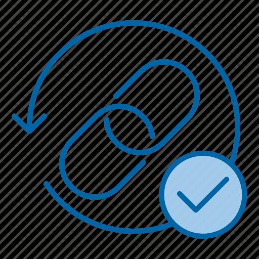 backlinks, chain, link, url icon