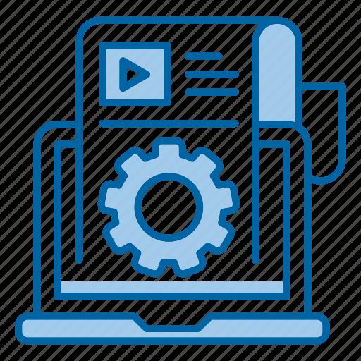 blogging, content, management, web, writing icon
