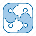 business, contract, deal, partners icon