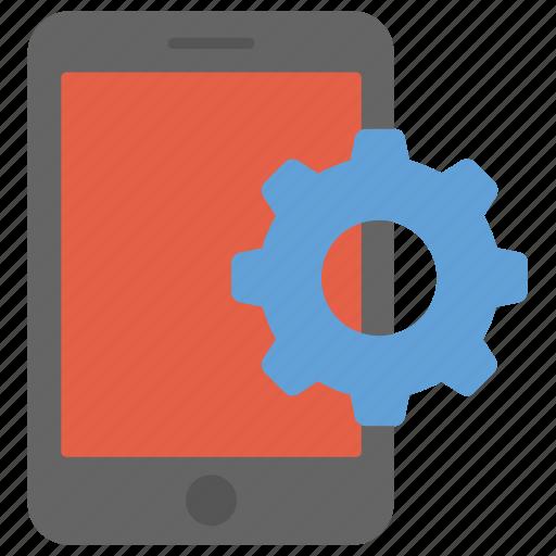 mobile app development, mobile application management, mobile development, mobile software development, mobile-device testing icon