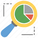 analytics, barchart report, growth analysis, market research, statistic report icon