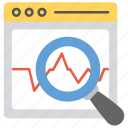 search engine optimization analysis, seo analysis, seo audit, seo checker, site analyzing icon