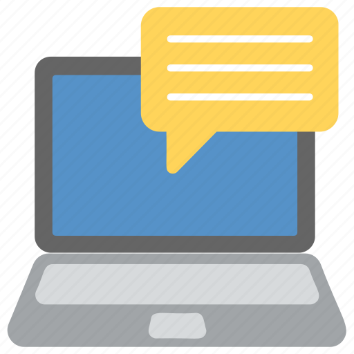 audio call, chat message, live chat, online chat, online communication icon