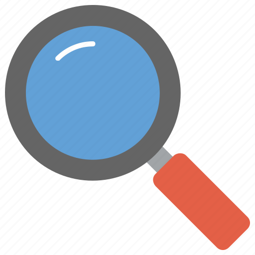 lens, magnification device, magnifier, magnifying glass, optical device, search tool icon