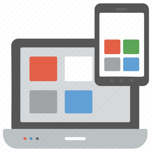 responsive web design, rwd, seo, user interface plasticity, web design, web development icon