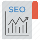 content marketing, internet marketing, search engine optimization, seo, web page in search engine icon