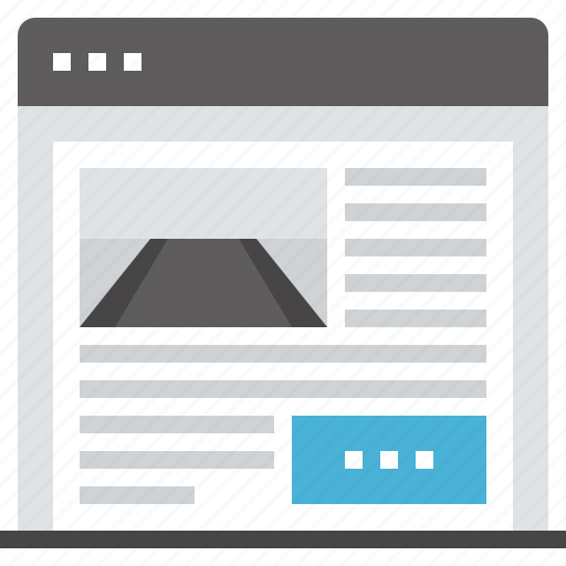 home, internet, landing, main, page, web, website icon