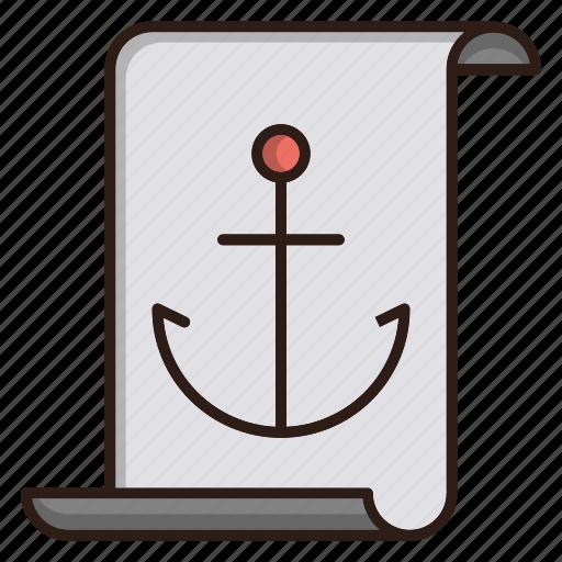 anchor, article, blogging, content, seo icon