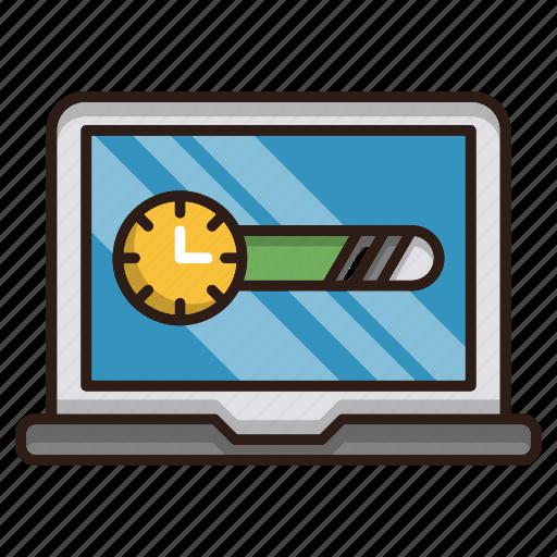 data, download, page, progress, seo, speed icon