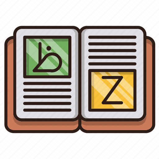 book, education, languages, seo icon