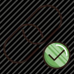 building, chain, link, seo, url icon