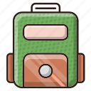 bag, case, study, travel icon