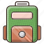 bag, case, study, travel icon