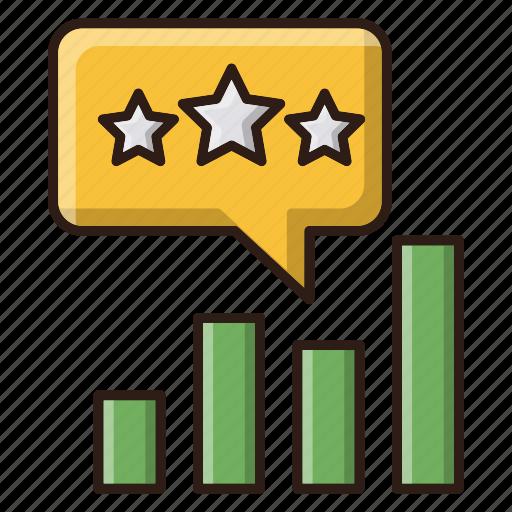 chart, management, reputation, seo icon