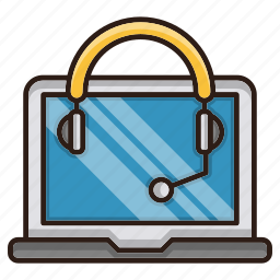 computer, consulting, headphone, help, seo, support icon