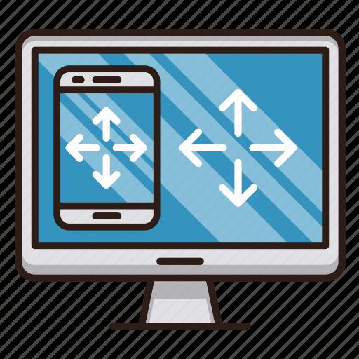design, devices, responsive, screen, seo, web icon