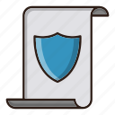 copyright, protection, seo, shield icon