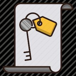 document, keywords, seo icon
