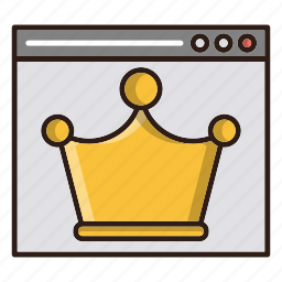 best, crown, page, quality, seo icon
